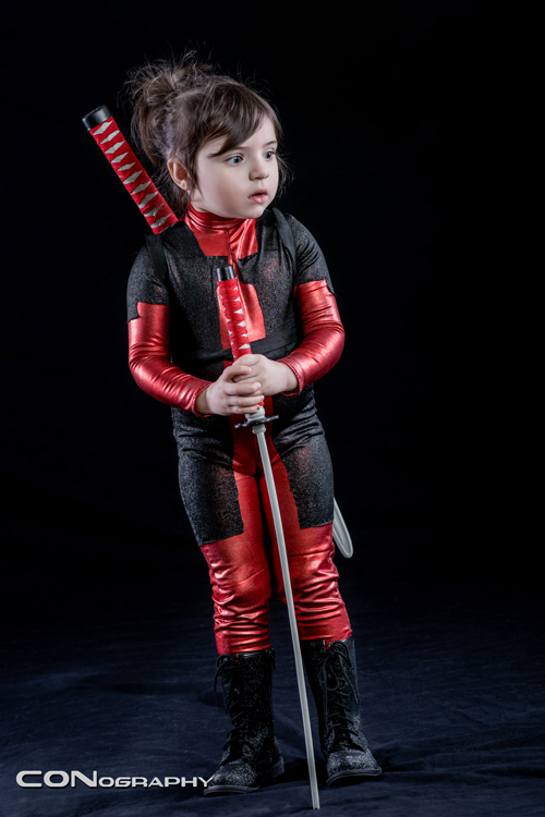 Little Deadpool Cosplay
