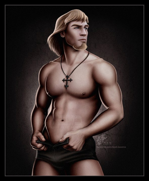 Sexy Disney Male Pinups