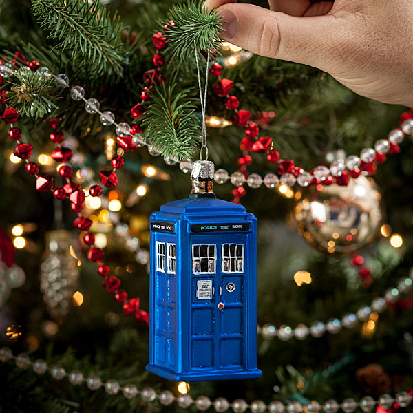 Weeping Angel Tree Topper + Doctor Who Christmas Ornaments