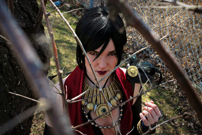 Morrigan & the Inquisitor from Dragon Age Cosplay