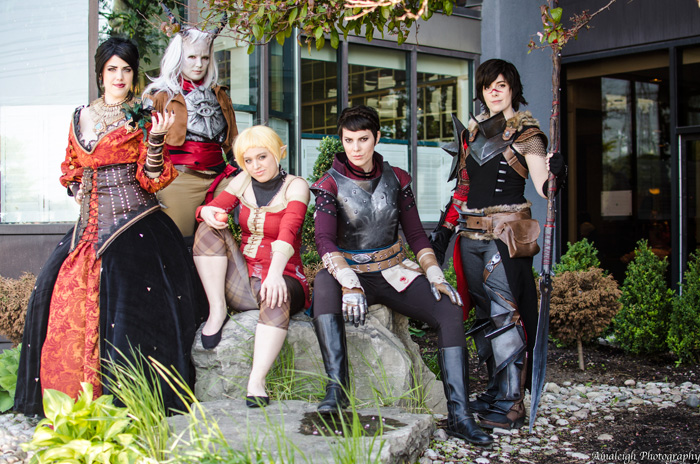 Dragon Age Group Cosplay
