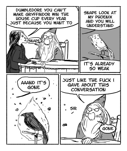 Hilarious Harry Potter Dumbledore Comics