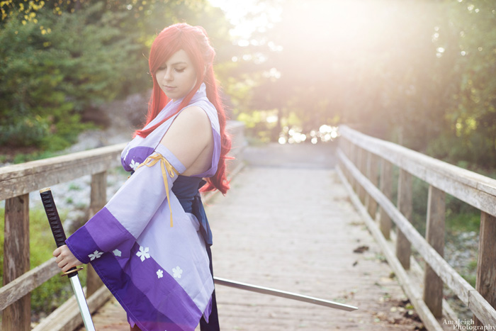 Erza from Fairytail Cosplay