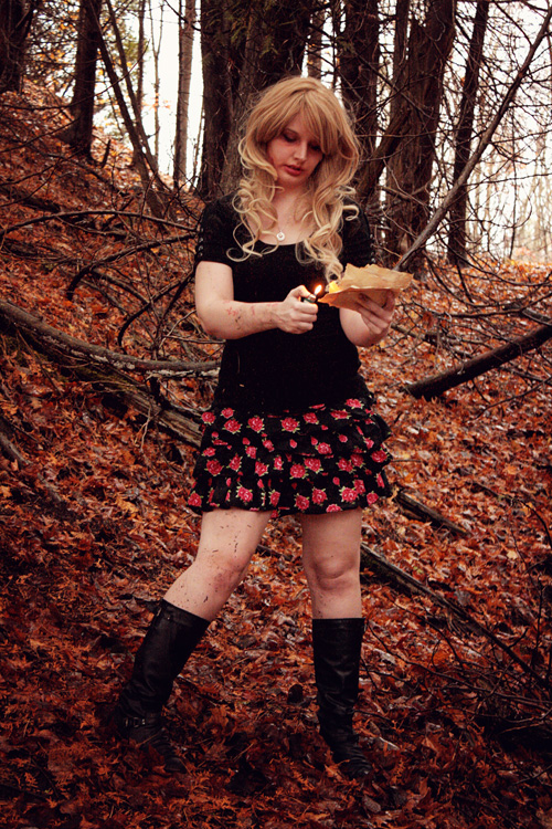The Evil Dead Inspired Photoshoot