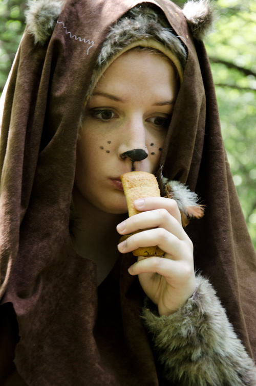 ewok cosplay