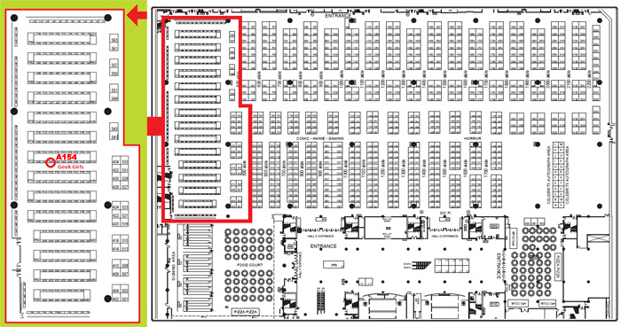 Fan Expo 2012 Map