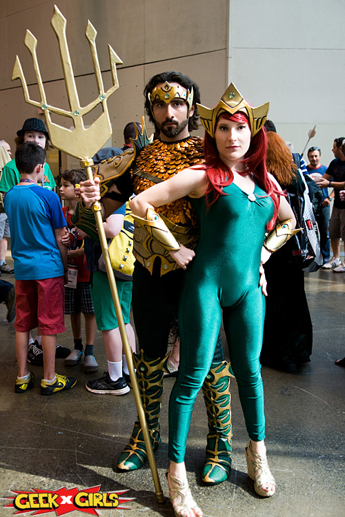 Cosplayers at Fan Expo 2015