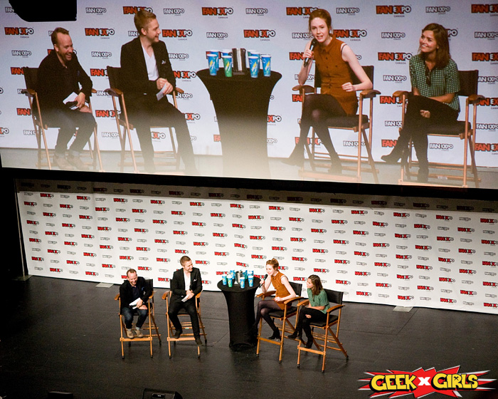 Celebrities at Fan Expo 2015