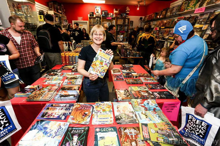 Free Comic Book Day in London, Ontario