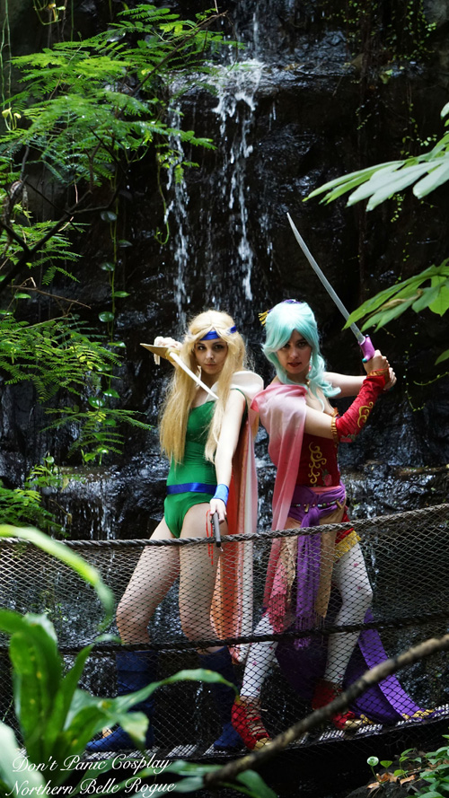 Terra & Celes from Final Fantasy VI Cosplay