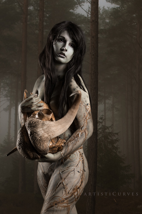 Lady of the Forest from Dragon Age: Origins Body Paint