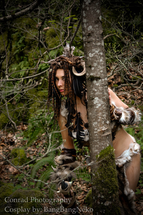 forsworn from skyrim cosplay