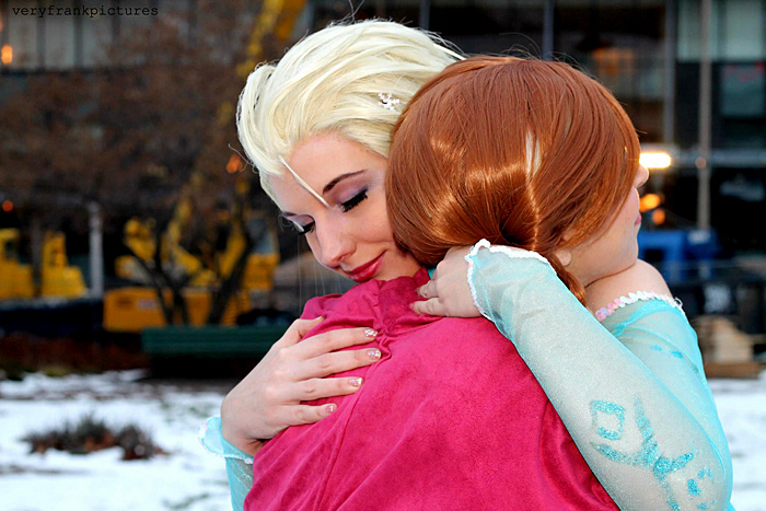 Elsa & Anna from Frozen Cosplay