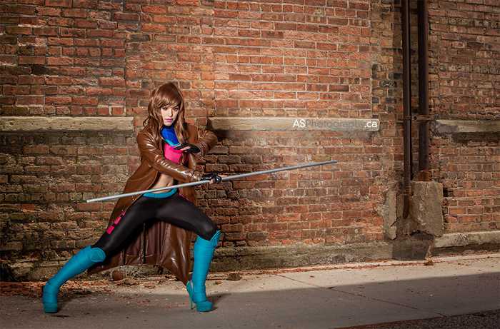 Female Gambit Cosplay