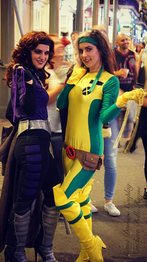 sc 1 st  GeekxGirls & Rogue u0026 Gambit in New Orleans Cosplay