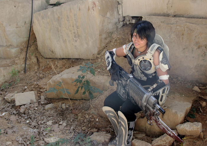 Gears Of War Cosplay
