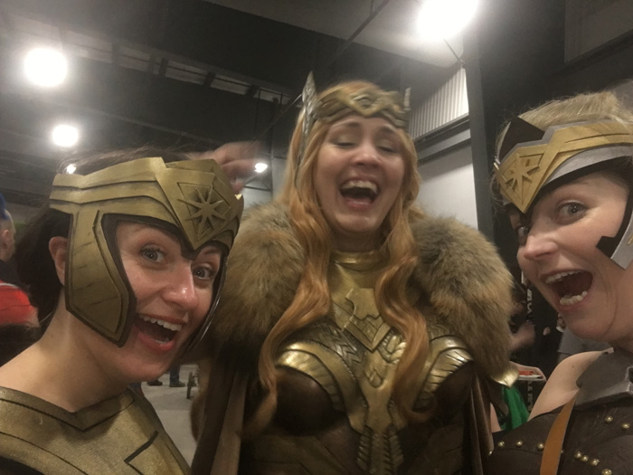 Amazons from Wonder Woman Cosplay