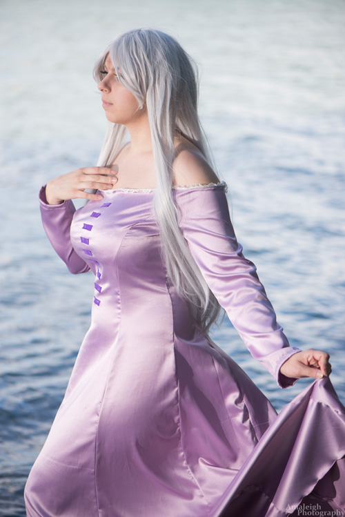 Lady Amalthea from The Last Unicorn Cosplay