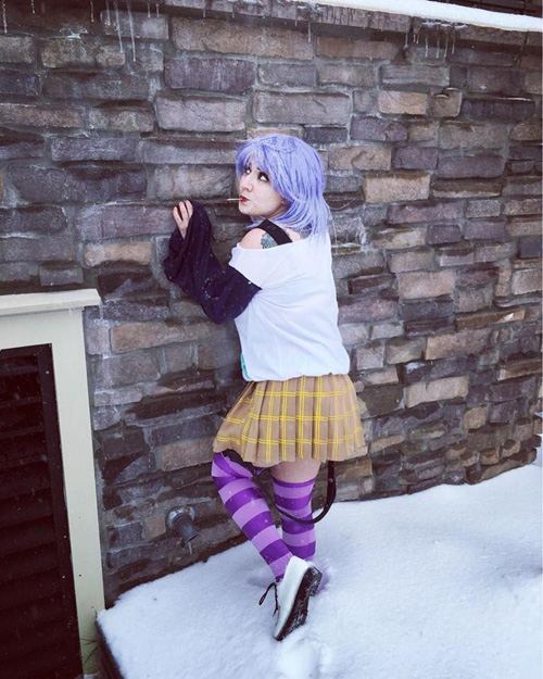 Mizore from Rosario + Vampire Cosplay