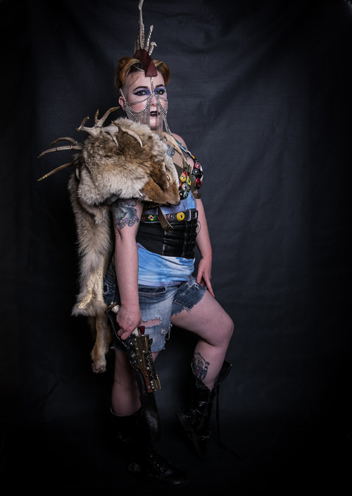 Post-Apocalyptic Girl Photoshoot