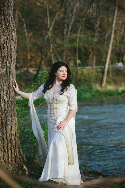 Confessor from Legend of the Seeker/Sword of Truth Cosplay