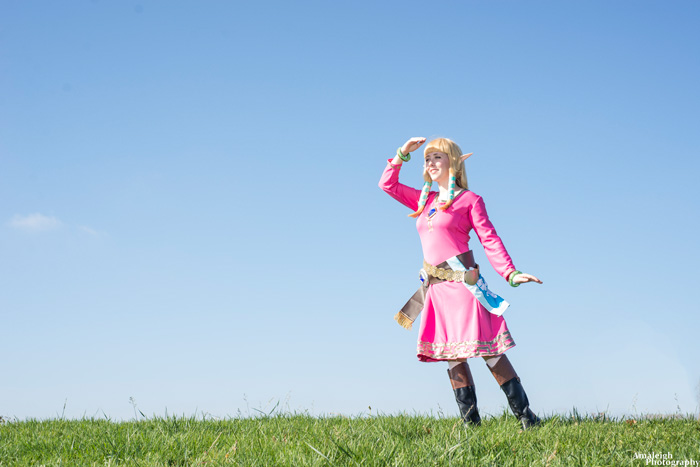 Zelda from The Legend of Zelda: Skyward Sword Cosplay