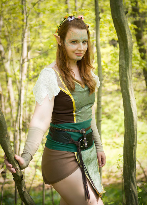 Ava Lavellan from Dragon Age: Inquisition Cosplay