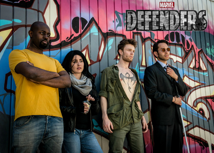 The Defenders Group Cosplay