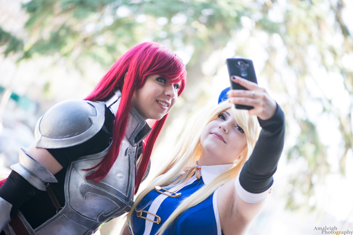 Erza & Lucy from Fairy Tail Cosplay