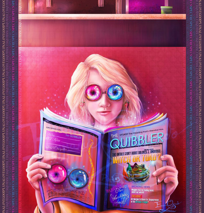 Hermione & Luna Lovegood Cosplay