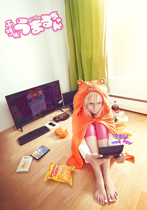 Umaru Doma from from Himouto! Umaru-chan Cosplay
