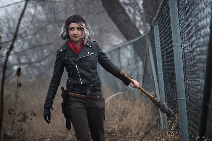 Fem! Negan from The Walking Dead Cosplay