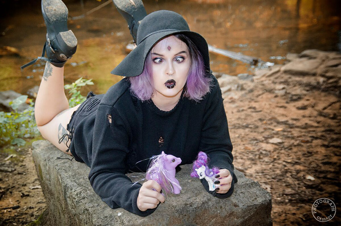 Casual Raven Cosplay