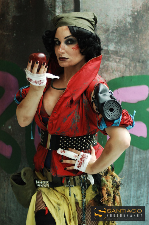 Post-Apocalyptic Snow White Cosplay