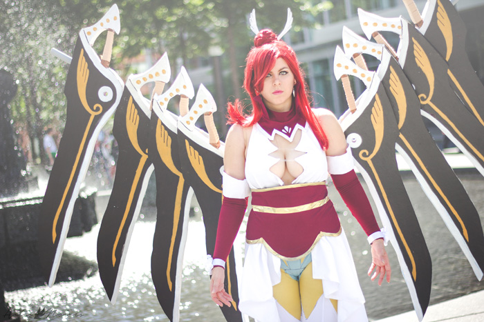 Wingblade Erza Scarlet from Fairy Tail Cosplay