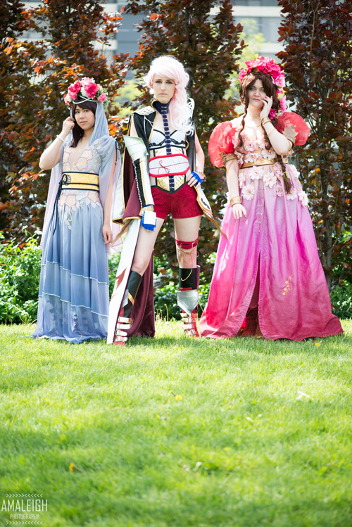 Final Fantasy Group Cosplay