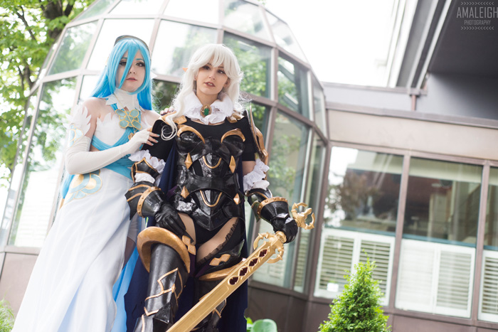 Azura & Kamui from Fire Emblem Cosplay