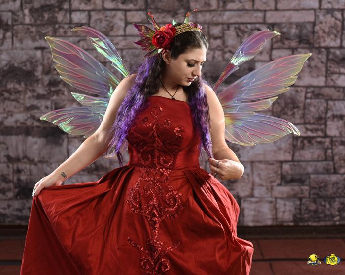 Fire Fairy Photoshoot