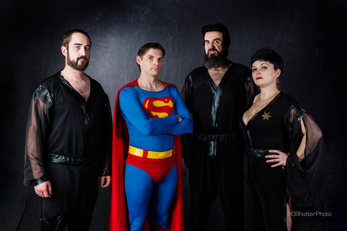 Kryptonians Group Cosplay