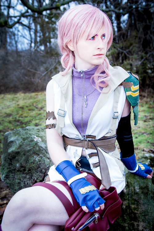Lightning from Final Fantasy XIII Cosplay