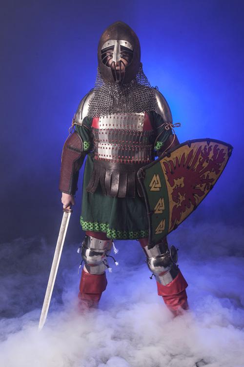 Armor Photoshoot