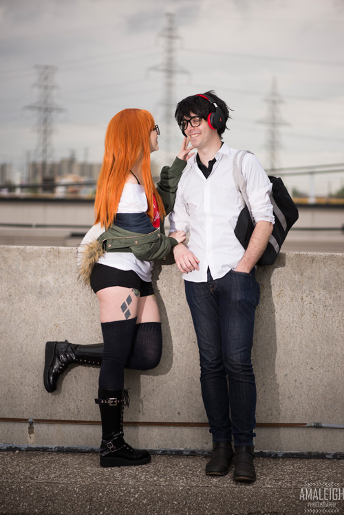 Futaba & Akira from Persona 5 Cosplay