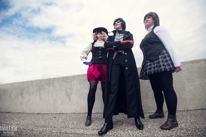 Persona 5 Group Cosplay