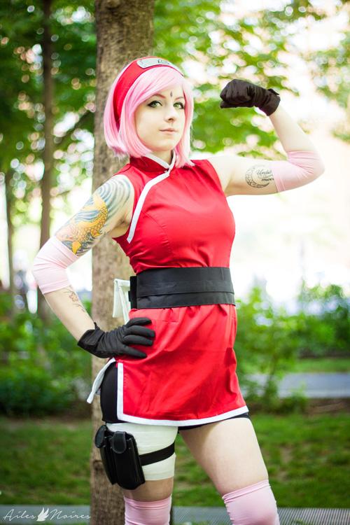 Sakura Haruno from Naruto Shippuden Cosplay