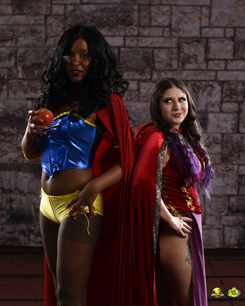Sela & Belinda from Grimm Fairy Tales Cosplay