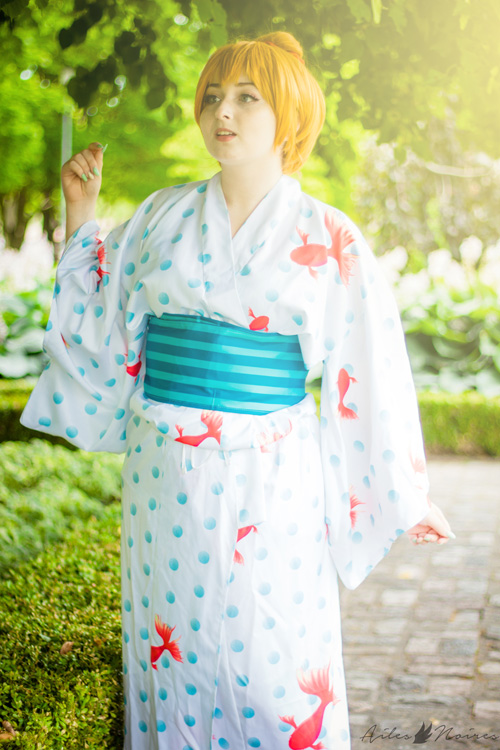 Summer Festival Umi & Honoka from Love Live!�Cosplay