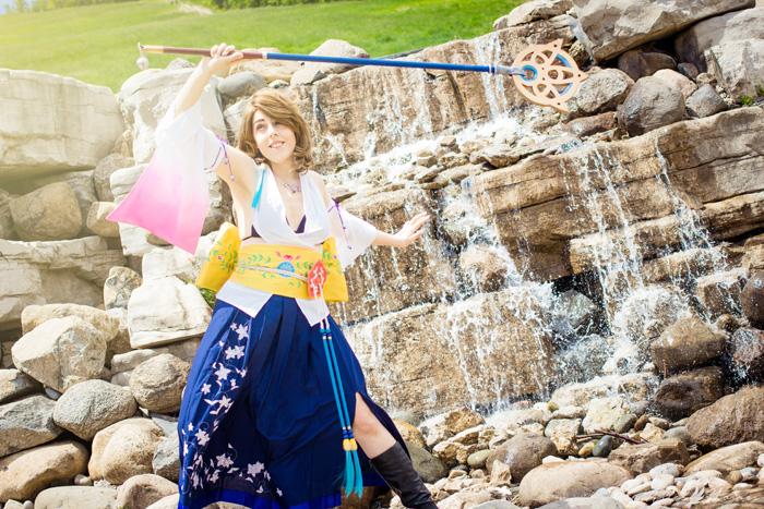 Yuna from Final Fantasy X Cosplay