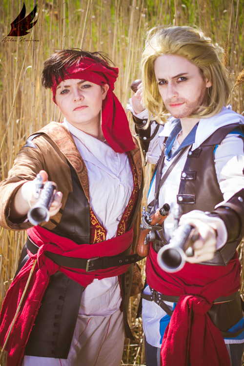 Assassins Creed IV: Black Flag Group Cosplay