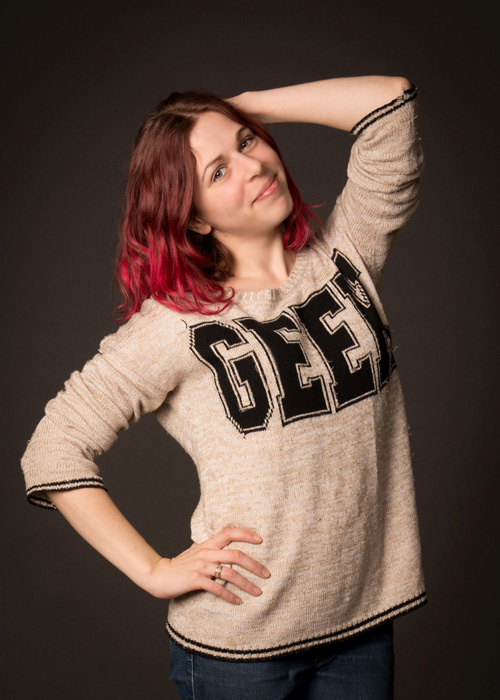 Casual Geek Girl Photoshoot