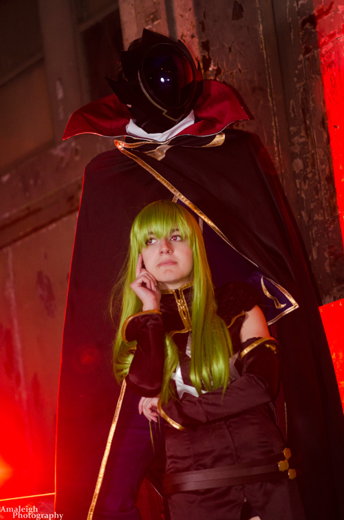 Zero & CC From Code Geass Cosplay